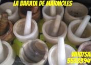!!! morteros en marmol y onix !!!