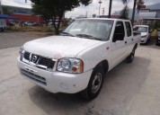Nissan np300 doble cabina 2014 95000 kms