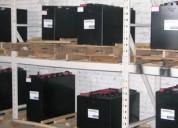 Venta de baterÍas industriales para montacargas