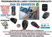 ProgramaciÓn de llaves con chip y controles remoto para auto 044 55 68606938