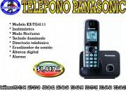 Telefono inalambrico panasonic kx-tg411