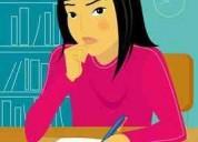 Si su hijo tiene dudas ayudalo a resorverlas mandalo a clases de apoyo escolar
