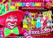 Show de payasos para fiestas infantiles en chimalhuacan