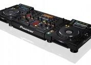 Pioneer cdj-2000 nexus 2 cd speler 1 djm-2000 dj mixe