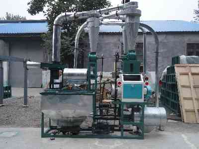 Molino completo para harina de trigo 350-450kg kit completo