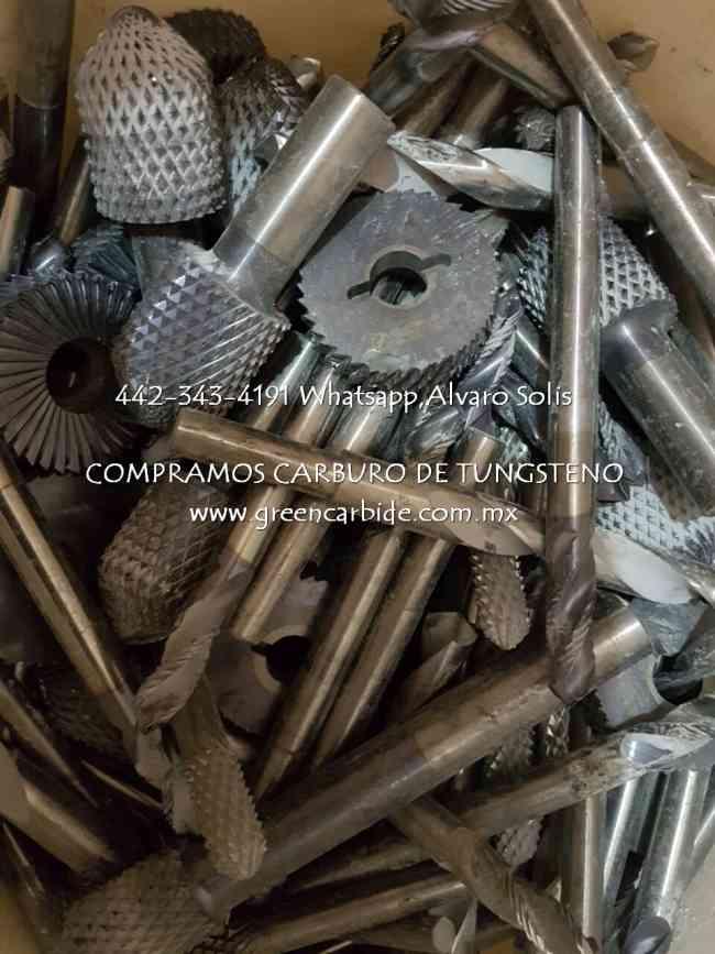 A LA COMPRA DESPERDICIOS DE CARBURO TUNGSTENO EN RINCON DE ROMOS, AGS