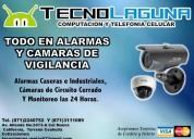 Alarmas y camaras de vigilancia