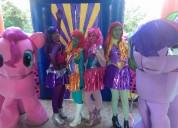 Sensacional gran show de equestria girls en puebla