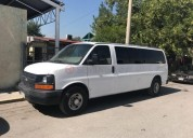 Chevrolet express 2009 120000 kms