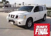 Nissan pathfinder armada 2007 99000 kms