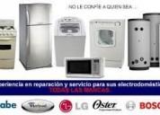 Tecnicos en lavadoras y refrigeradores