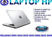 Laptop hp 14-am071la