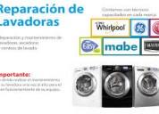 Servicio y reparacion de lavadoras y refrigeradores a domicilio