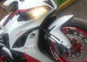 Excelente honda cbr600 blanca/rojo