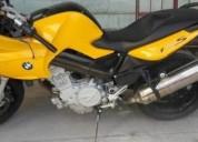 Moto bmw amarilla -, contactarse.