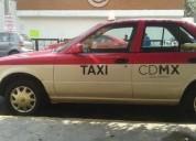 Chofer taxi tsuru 2009 tiempo libre, oportunidad!.