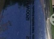 Vendo amplificador 1200w