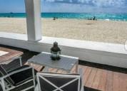 Vendo casa primera linea de playa para 10 personas