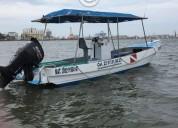 Vendo excelente lancha de buceo 26 ft motor suzuki 140 hp