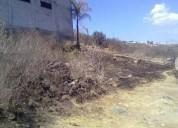 Excelente terrenos junto a barda cañada del refugio