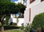 Linda casa cipreses amplia jardin vigilancia