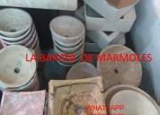 !!!  lavabos hermosos de marmol !!!