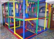 Juegos infantiles para salon  de fiestas y restaurat