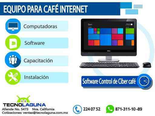VENTA DE EQUIPO PARA CAFE INTERNET