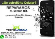 Reparaciones express celulares