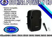 Bocina power y co