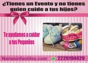 Niñeras infantiles para tus fiestas o eventos