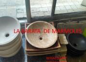 Bodega de lavabos de mármol y onix
