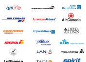 Aerolineas sella sobres de publicidad !!! promociones