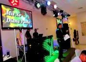 Renta de equipos de sonido en tampico bodas y quinces
