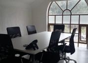 Renta de oficinas con imagen corporativa que tu negocio  necesita.