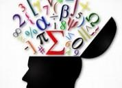Asesorías de matemáticas para jóvenes de secundaria.