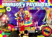 show musical de payasos para fiestas infantiles - df/edomex