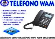 Telefono alambrico wam