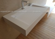 Cubiertas para cocina,baño y comerciales de corian o superficie solida,hanex,krion,tristone,lg,etc.