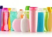 Trabaja en casa empacando shampoo y desodorante