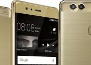 Huawei p9 plus 64gb nuevo dorado
