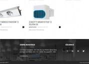 Equipos de refrigeración comercial e industrial, cámaras y puertas