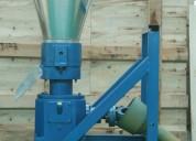 Meelko peletizadora 300 mm 55 hp diesel para concentrados balanceados 600-750kg.