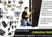 Curso de cerrajeria integral con materiales y herramientas