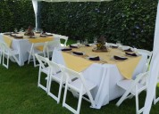 Renta de mesas y sillas para eventos