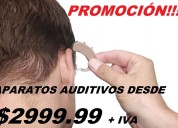 Venta de auxiliares auditivos