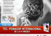 Curso de peinado internacional en puebla