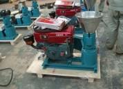 Máquina de hacer pellets de alfalfa 150mm