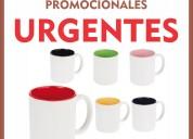 Tazas de ceramica promocionales, publicitarias urgentes