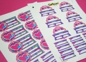 Sella stickers de marcas registradas